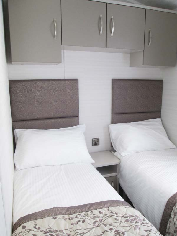 Carnaby Stamford Lodge Twin Bedroom
