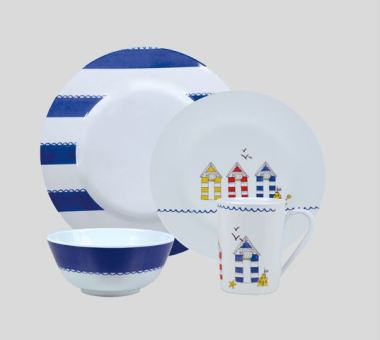 Melamine outdoor dining set