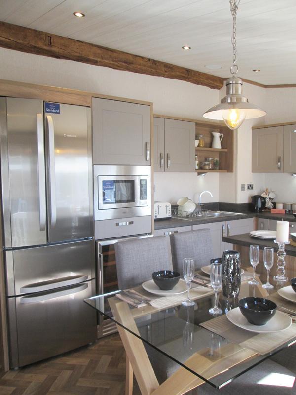 Pemberton Rivendale Lodge Kitchen