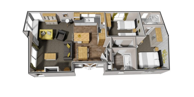 Willerby Mulberry Lodge Floor Plan