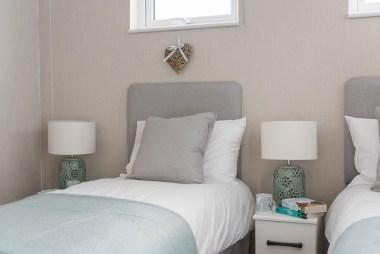 Omar Atrium Twin Bedroom Bed Detail