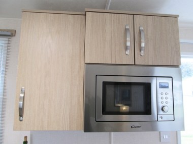 Victory Belmor Cabinets & Microwave