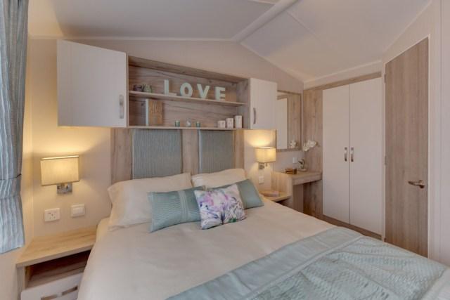 Willerby Skye Master Bedroom