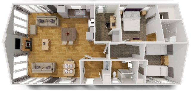 Willerby Juniper floor plan