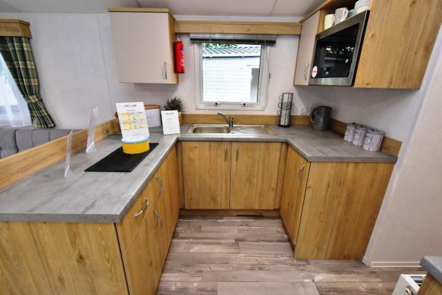 Atlas Mirage Static Caravan Kitchen