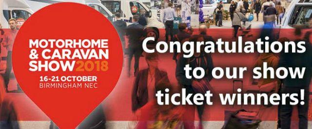 show ticket winners