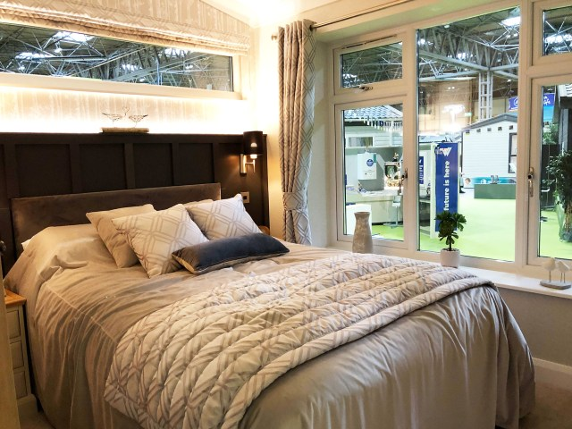 2019 Willerby Delamere bedroom