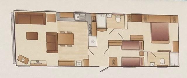 Swift Vendee floorplan