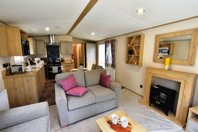 2019 ABI Beverley static caravan interior