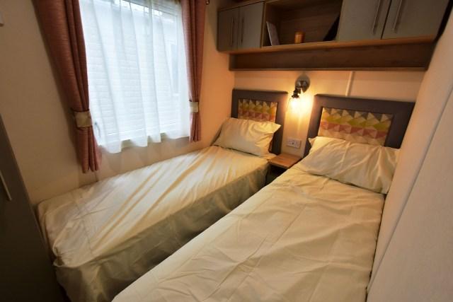 2019 ABI Beverley static caravan twin bedroom