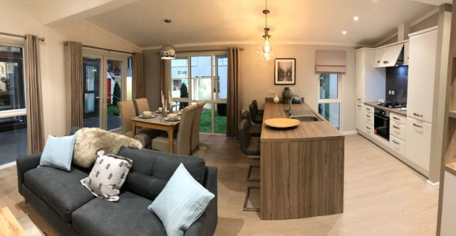 Tingdene Harrington Open Plan Living Space