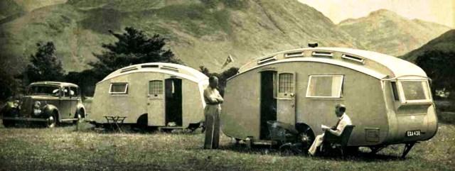 1930s caravan