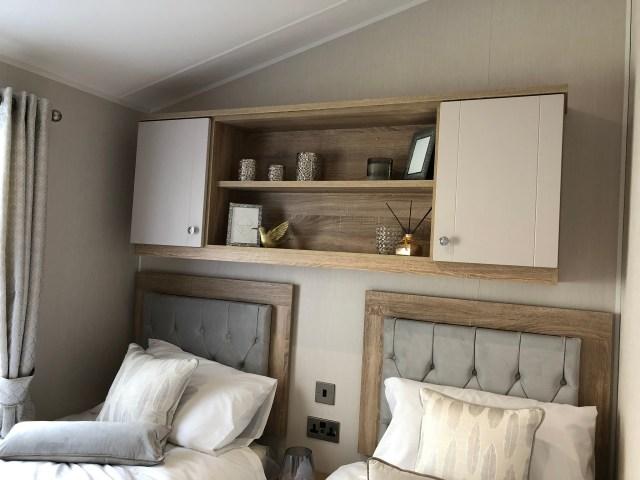 2020 Willerby Vogue Classique static caravan twin bedroom