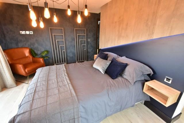 2020 Tingdene Quantum lodge master bedroom