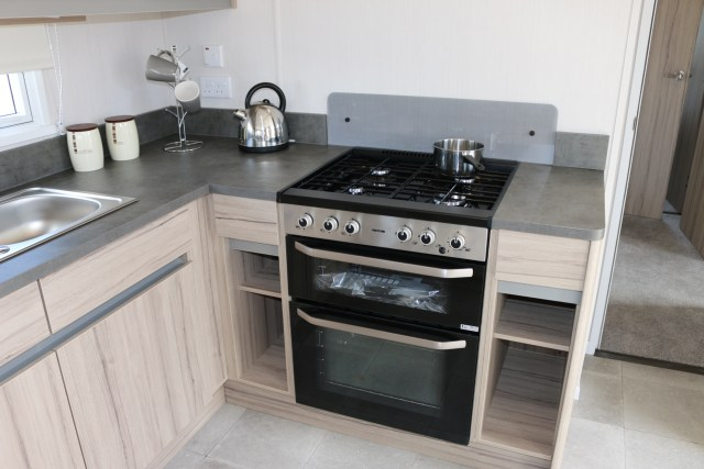 2020 Swift Ardennes static caravan kitchen