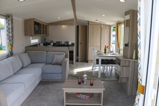 2020 Swift Ardennes static caravan lounge