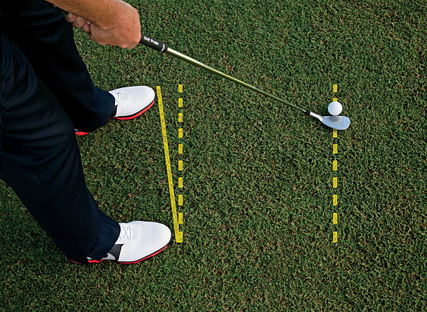 Image result for open stance golf