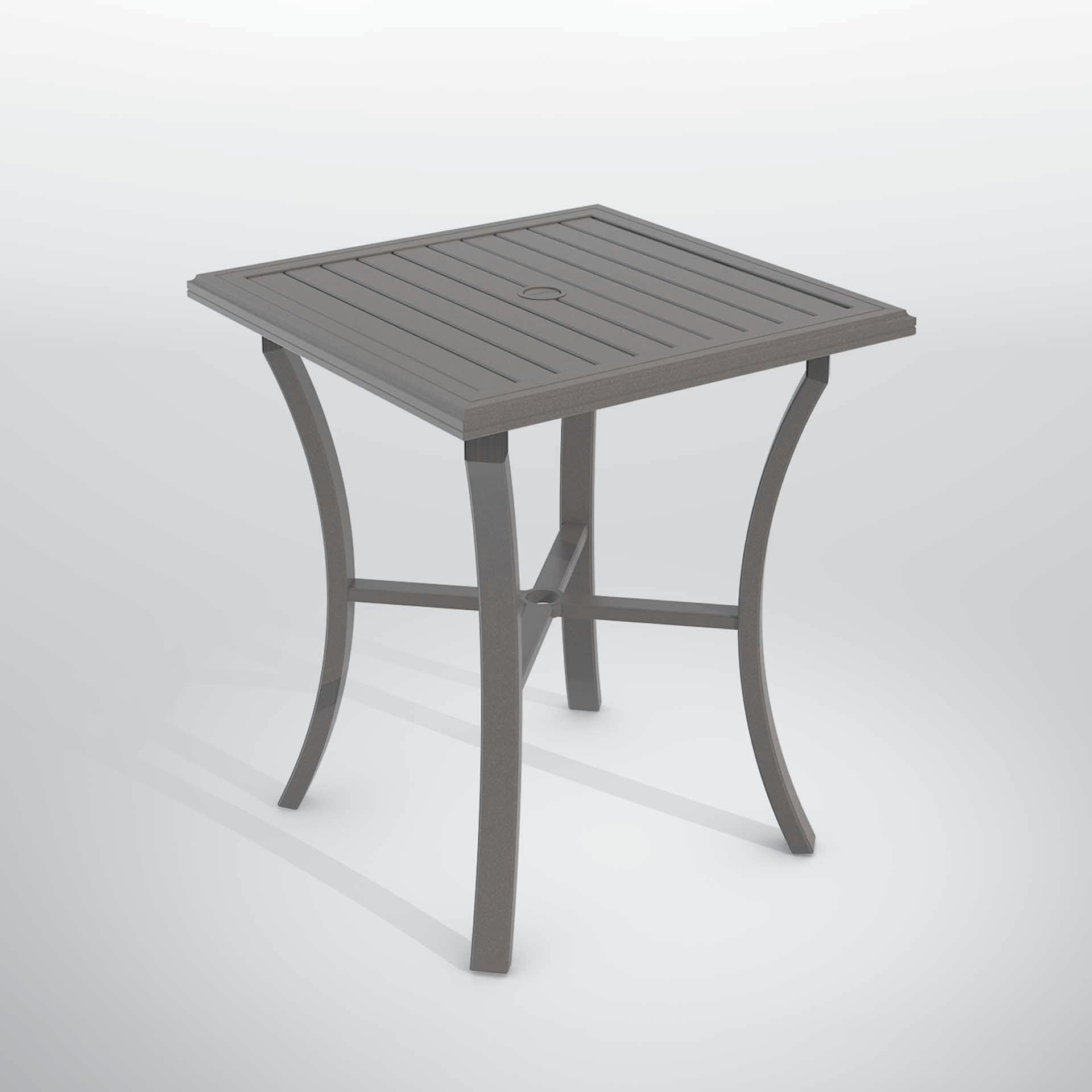 Tropitone Banchetto 36 Square Bar Table Leisure Living