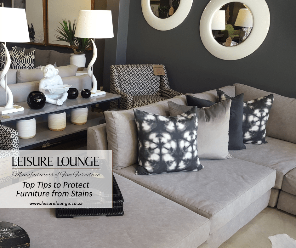 Tips To Protect Furniture From Stains Leisure Lounge