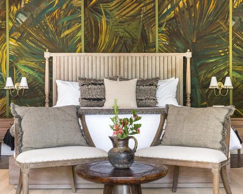 The spaces are furnished by custom products created by local artisans and one-of-a-kind vintage pieces / Eileen Chang