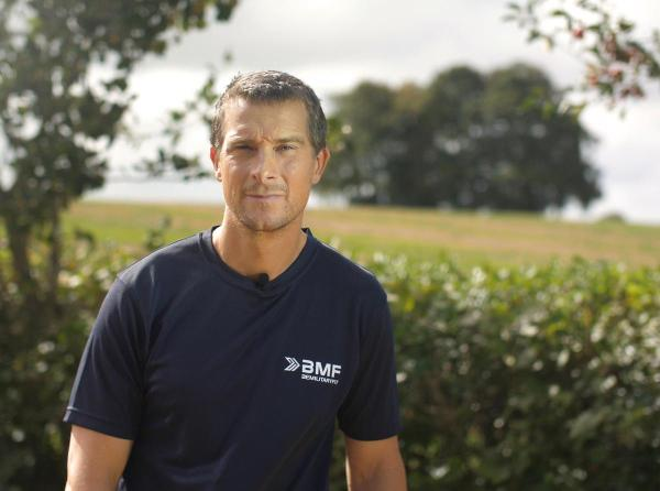 BMF teams up with Bear Grylls and rebrands as 'Be Military ...