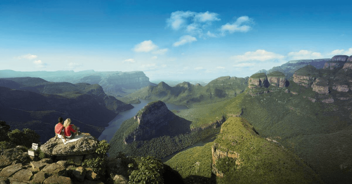 Taking in the beauty of the Mpumalanga scenery