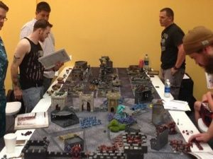 Warhammer 40000 Tournament at Summer Games and Comics Day 2017