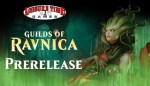Image used for the Guilds Of Ravnica Prerelease at Leisure Time Games
