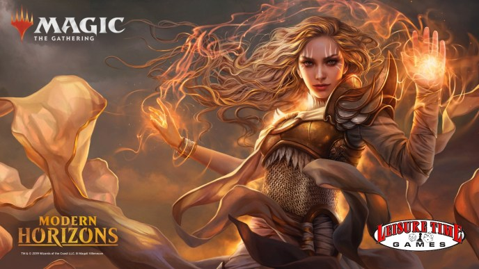Image used to promote the Modern Horizons Prerelease Weekend at Leisure Time Games