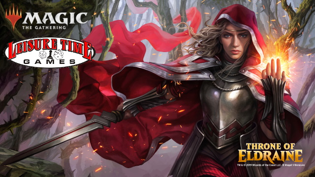 Throne Of Eldraine Prerelease at Leisure Time Games