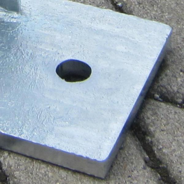 Stahlpfosten verzinkt