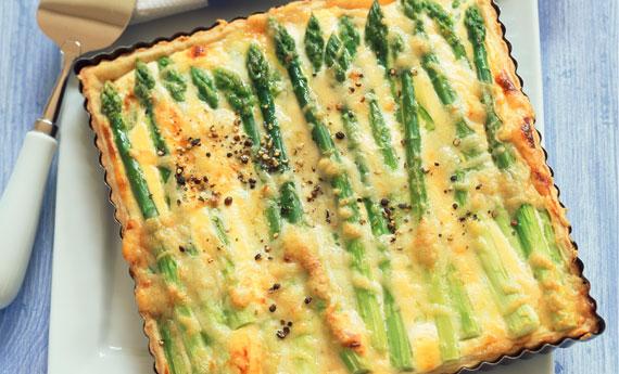 Risultati immagini per torta di asparagi