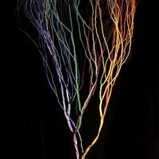 Cable telefònic i cèrcols de bóta de rebuig Ø 105 x 240 cm