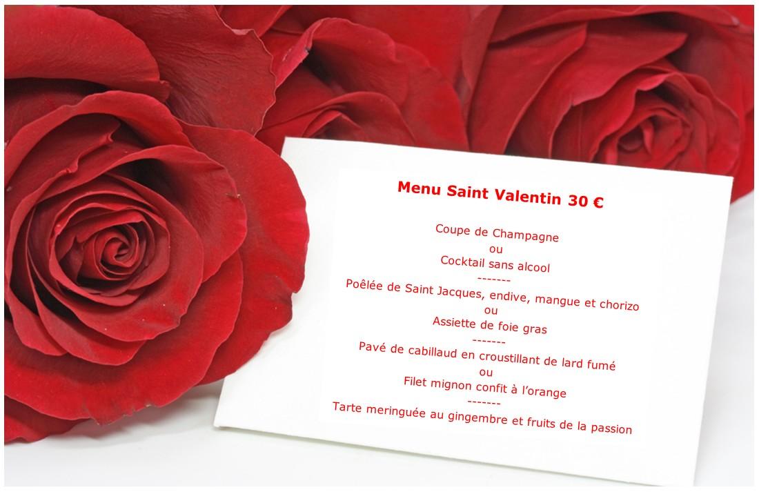 Pour la Saint Valentin, offrez-vous un repas en Amoureux - Le Jardin ...
