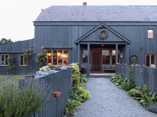 une belle maison de campagne