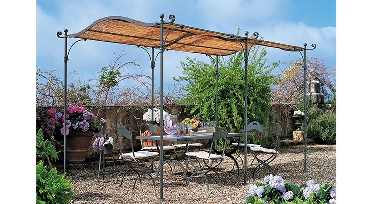 salon de jardin pergola gazebo