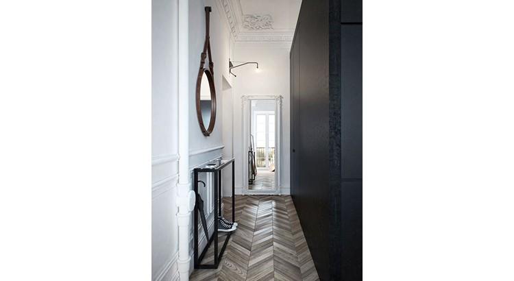 couloir etroit amenagement decoration idee