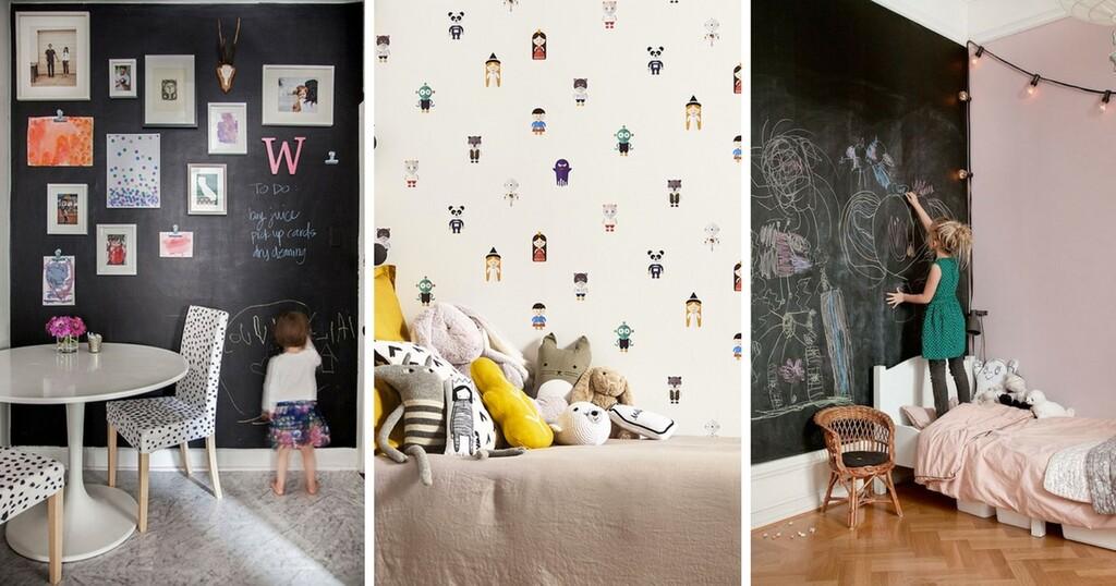 Chambre D Enfant 8 Idees Pour Des Murs Ultra Ludiques