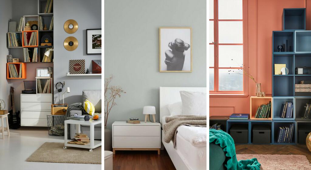 Ikea 25 Idees Pour Combiner Les Elements Eket Dans La Maison