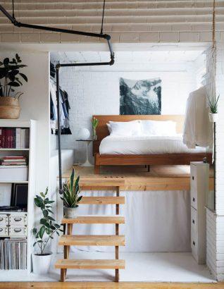 mezzanines pour amenager un petit studio