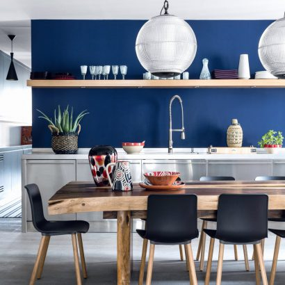 25 Facons D Inviter Le Bleu Marine Dans Sa Cuisine