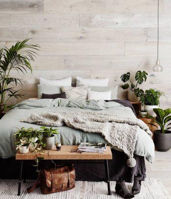 adopter le bout de lit dans la chambre