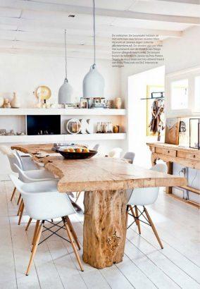 14 idees pour adopter la table en bois