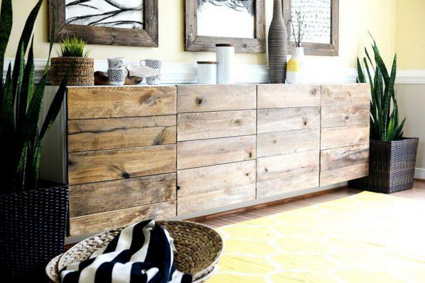 transformer un meuble avec des palettes