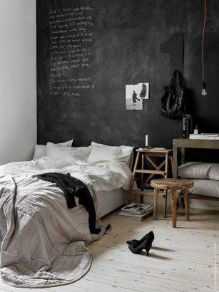 15 facons d adopter le noir dans la chambre