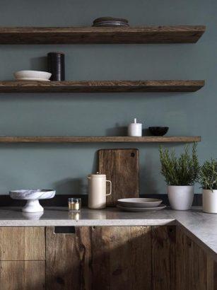cuisine en bois fonce 12 raisons de
