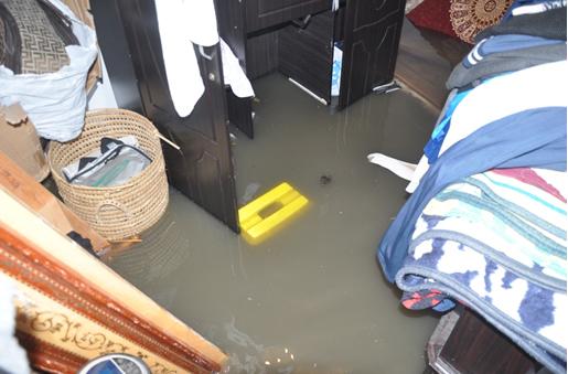 Bab Teatro : Inondation d'habitations et de Commerces par ...