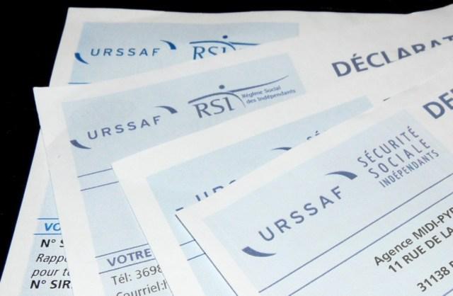 Feuilles URSAFF RSI