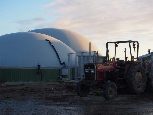 Biogaz methanisation