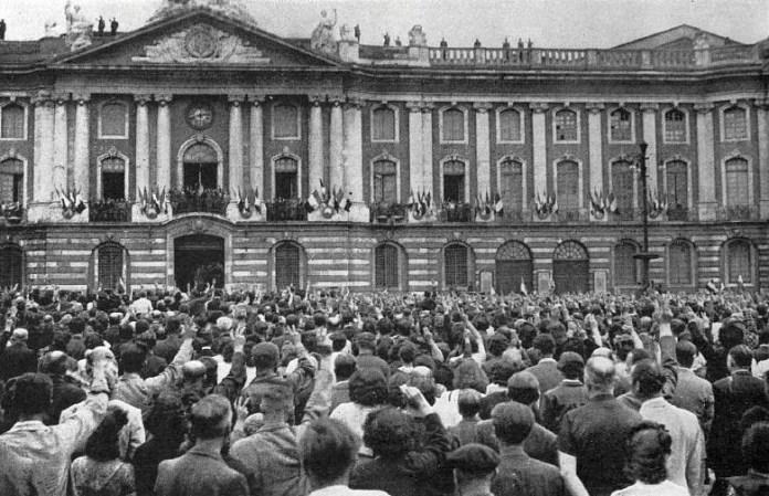 Place du Capitole - Libération de Toulouse
